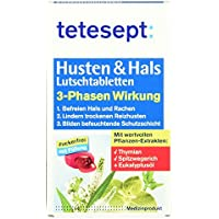 Tetesept Husten und Hals Lutschtabletten, 20 Stück preisvergleich bei billige-tabletten.eu
