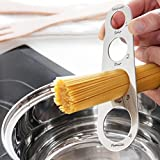 GKA Edelstahl Profi Spaghettimaß Spaghetti Portionierer Besteck Maß bis 4 Personen Nudelmaß Nudelabmesser Abmessen Portion Spaghetti