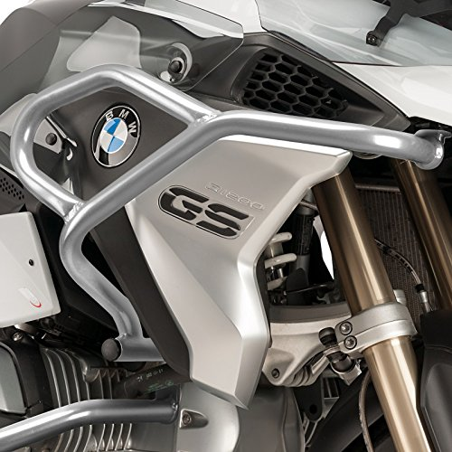 Defensa protector de motor Puig BMW R 1200 GS 17-18 plata arriba