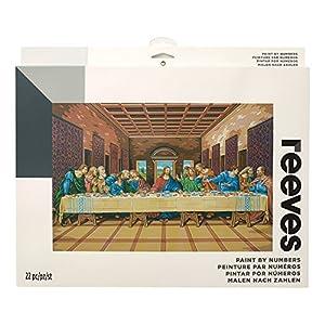 Reeves - Creatividad - Pintar por números - Grande, La última cena