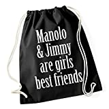 Certified Freak Girls Best Friends Borsa De Gym Nero