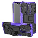 Labanema Nokia 5.1 Plus/Nokia X5 Case, Heavy Duty Shock