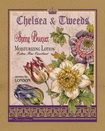 Feeling at Home-Kunstdruck-FrŸhlings-Blumenstrau§-cm50x40-Poster-fuer-Rahmen Chelsea Bouquet