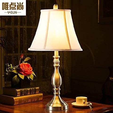 Moderno ed alto-fine rame lampada da tavolo pastorale continentale minimalista