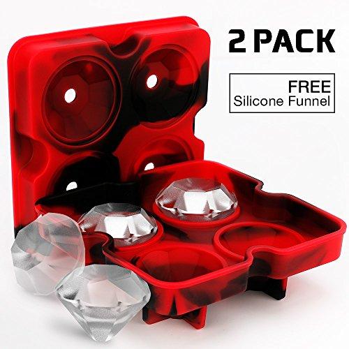 Moldes para hacer hielos con forma de diamante por sólo 3,99€ ¡¡60% de descuento!!