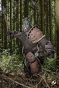 Epic Armoury 800723 Orc Brute Armour, color marrón completo, unisex adulto