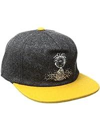 HUF X Pigpen Snapback Cap Charcoal/Yellow