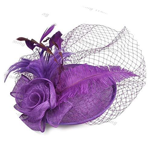 alemon Mode Hochzeit Hüte für Frauen-Elegante 2019