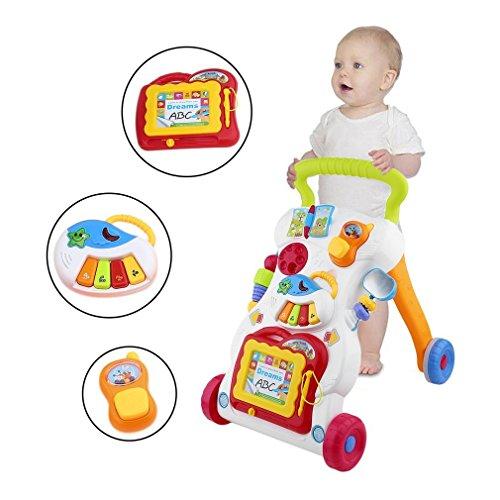 Carrito multifuncional para bebé, con tornillo ajustable
