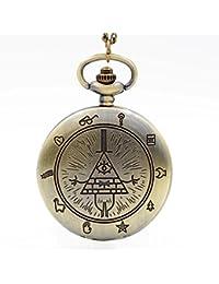 6 : New Fashion IC XC NI KA Badge Quartz Pocket Watch Designer Watches Men Watch Women Analog Pendant Necklace...