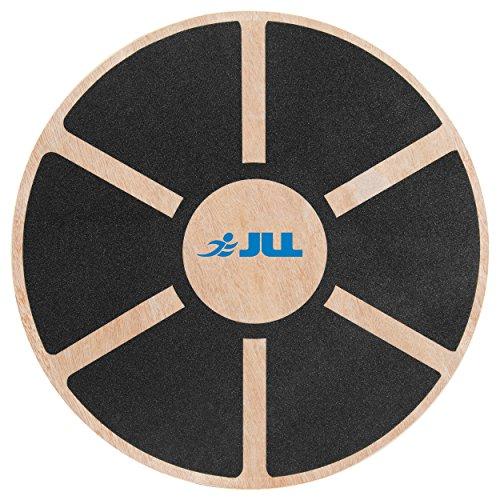JLL® Wooden Balance Board, ANTI SLIP SURFACE, Exercise Fitness Workout Rehabilitation Training Exercise Wobble Board