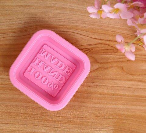 Efbock handgemachte Silikon-Seifen-Formen, die Form-quadratische Standplatz-Kuchen-Formen einfach bilden (Einfache Käsekuchen-rezepte)