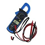 ueetek Digital Multimeter-Klemme Amperemeter Haltekrallen Spannungswandler Prüfvorrichtung Test-Spannung Strom Messgerät AC/DC