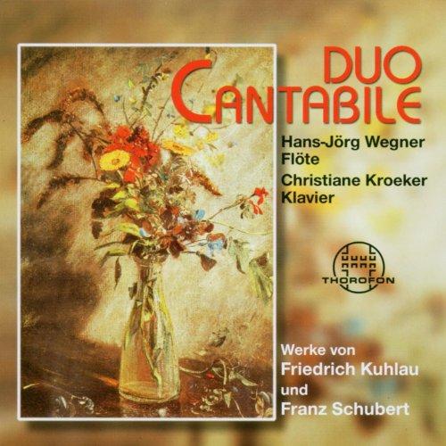 Grande Sonate Concertante A-Moll op. 85 für Klavier und Flöte - II. Scherzo. Allegro assai - Grand Flöte
