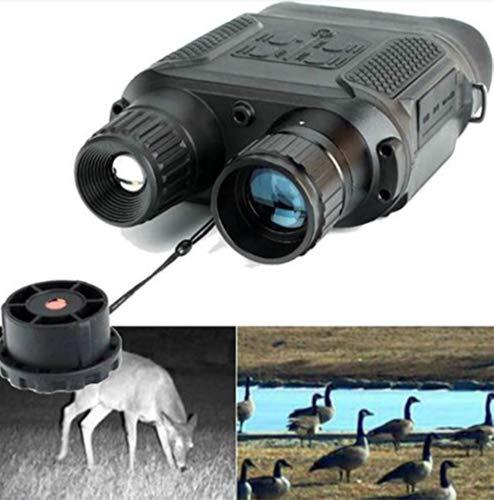 """Binoculares, Caza de Infrarrojos Digital de Alta definición Alcance Binocular con LCD TFT de 2\""""y cámara IR de 7X aumentos con función de grabadora de Video día y Noche en 1300 pies"""