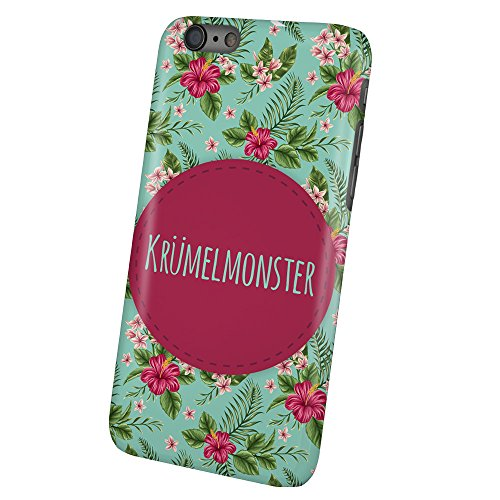 PhotoFancy - iPhone 6 Plus / 6s Plus Handyhülle mit Name Krümelmonster - Design