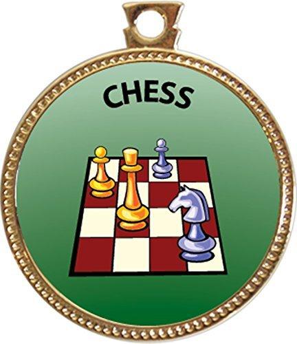 Keepsake Awards Chess Gold Award Disk