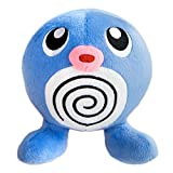 Tomy Auswahl Plüsch-Figuren | Pokemon Plüsch-Tier | Stofftier 20 cm, Plüsch:Quapsel