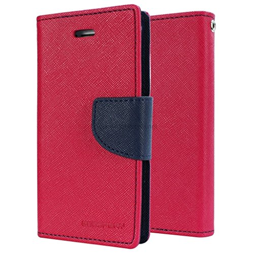 Sparkling Trends Mercury Goospery Fancy Diary Wallet Flip Cover Case for Micromax Canvas 4 A210 Red  available at amazon for Rs.189