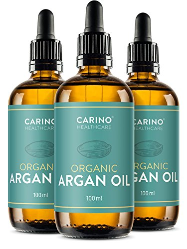 Arganöl kaltgepresst Bio zertifiziert 3 x 100ml aus Marokko I Anti-Falten Anti-Aging Pflege für...