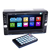 PolarLander Autoradio 2 DIN 6.6 Zoll Bluetooth in der Schlag-Touch-Screen-Autoradio Audio Stereo MP3-MP5 Dual USB Beiträge