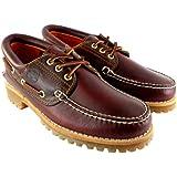 Herren Schuhe Timberland Heritage Classic Lug Leder Schnürsenkel Bootsschuh
