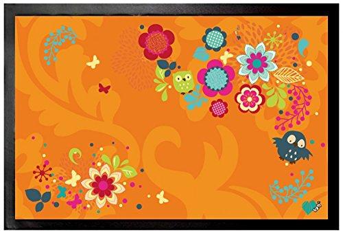 1art1 Flores - Fantasía Floral Búhos Y Mariposas