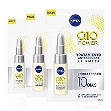 NIVEA Q10 Power Anti-Ageing Eye Cream with Anti-Wrinkle Firming Power, 19.5 ml , (3 x 6.5 ml)
