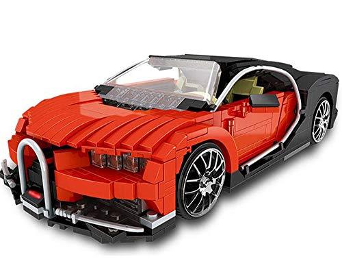 Modbrix Bausteine Auto SuperSportwagen Maßstab Konstruktionsspielzeug, 859 Bausteine