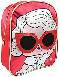 Lol Surprise - Mochila Infantil Rojo Rojo 1
