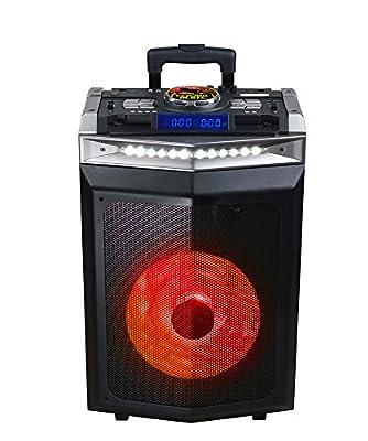 Sytech syxtr55dj Seismic DJ–Système Acoustique Professionnel Portable sans Fil de 900W, Noir de Sytech