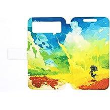 Flip Pu Leather Carcasa Cover para Funda Elephone M3 Pro Funda Case YH