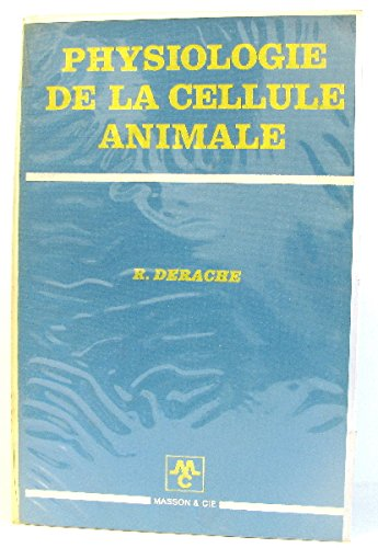 Physiologie de la cellule animale