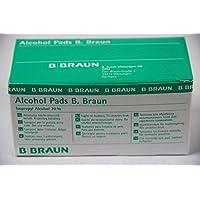 Alcohol Pads B. Braun Alkoholtuper 100 Stk. - PZN: 0629703 preisvergleich bei billige-tabletten.eu