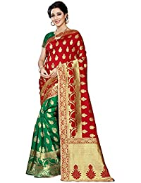 Sarees(Women's Clothing Sarees For Women Banarasi Sarees South Indian Sarees Banarasi Silk Sarees Navratri Special...