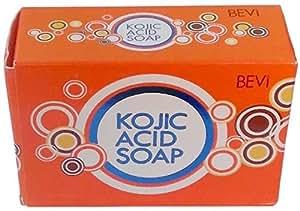 BEVI KOJIC ACID SOAP FROM MAKERS OF KOJIE SAN, LARGE 140-GRAM