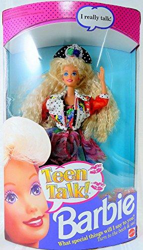 Teen Talk Barbie 1991