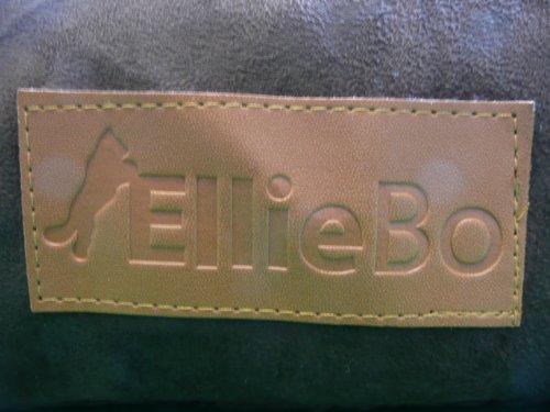 Ellie-Bo Hundebett, orthopädisch, Matratze aus viskoelastischem Kaltschaum / Memory-Schaum, Bezug aus Velourslederimitat / Schaffell, 106.7cm, braun - 3