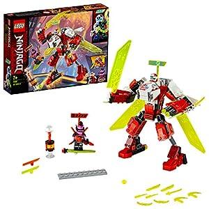 LEGO Ninjago - Robot-Jet de Kai, Set de Construcción 2 en 1, Incluye dos Minifiguras de Personajes de la Serie, Recomendado a Partir de 7 Años (71707)