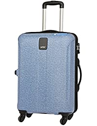 Safari Polycarbonate Thorium Denim Deluxe PC 4w 65 cm Trolley Bag (Blue) 3a0a29aae2f3e