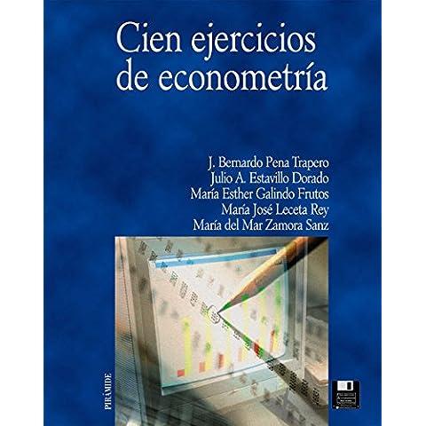 Cien ejercicios de econometría (Economía Y Empresa)