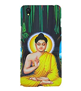 Mahatma Budh 3D Hard Polycarbonate Designer Back Case Cover for OnePlus X :: One Plus X :: One+X
