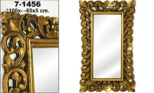 DonRegaloWeb-Espejo-de-pared-de-madera-rectangular-de-estilo-clasico-en-color-dorado