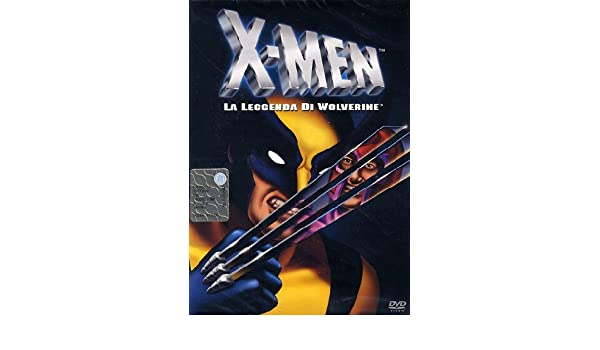 X men la leggenda di wolverine: amazon.it: cartoni animati: film e tv