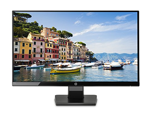 HP 24W Monitor per PC Desktop 24', 5 ms, Full HD (1920 x 1080), IPS Retroilluminato a LED, Nero