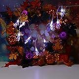 String Light TAOtTAO 1.2m Halloween String Light with 10 LED Light Strip Party Garden Patio Decoration (Weiß)