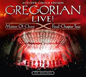 Gregorian LIVE! Masters Of Chant - Final Chapter Tour (1 DVD + 2 CD Digipack)