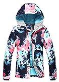 APTRO Damen Skijacke Winter Jacke warm gefüttert Regenjacke Mehrfarbig 9798 S
