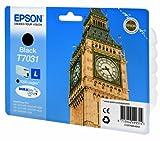 Epson T7031 (C13T70314010) Tintenpatrone Big Ben, Singlepack schwarz