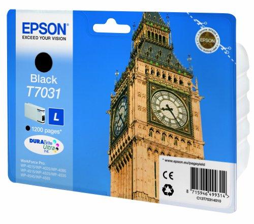 Epson T7031 Cartouche d'encre d'origine Noir
